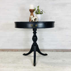Navy Accent Table