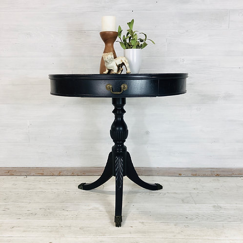 Midnight Blue Accent Table
