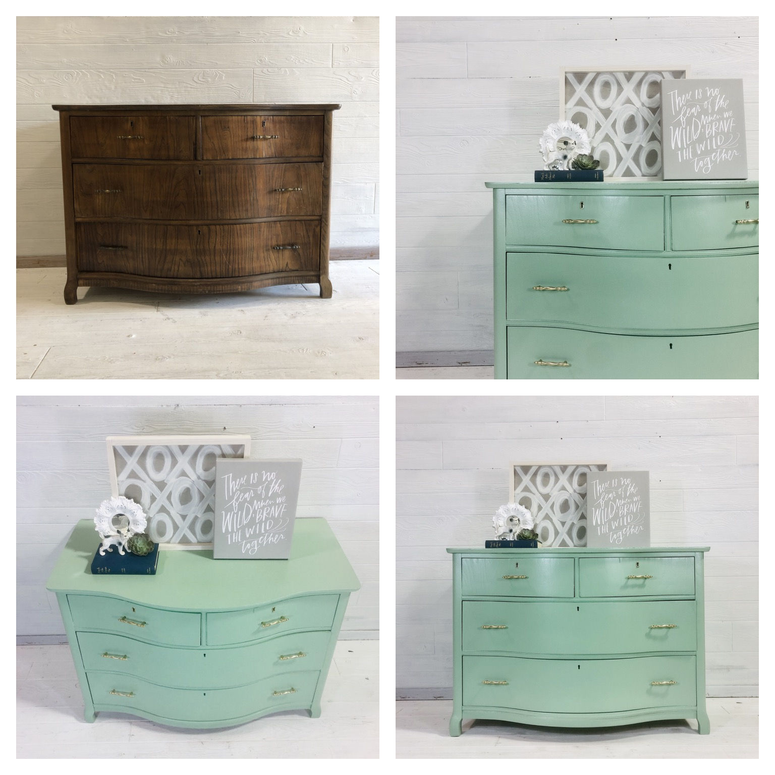 Nurture Green Chest of Drawers