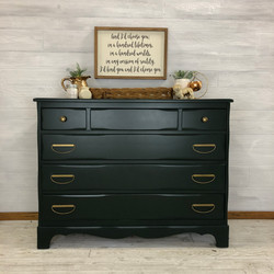 Deep Emerald Chest Of Drawers