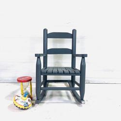 Grey Kids Chair