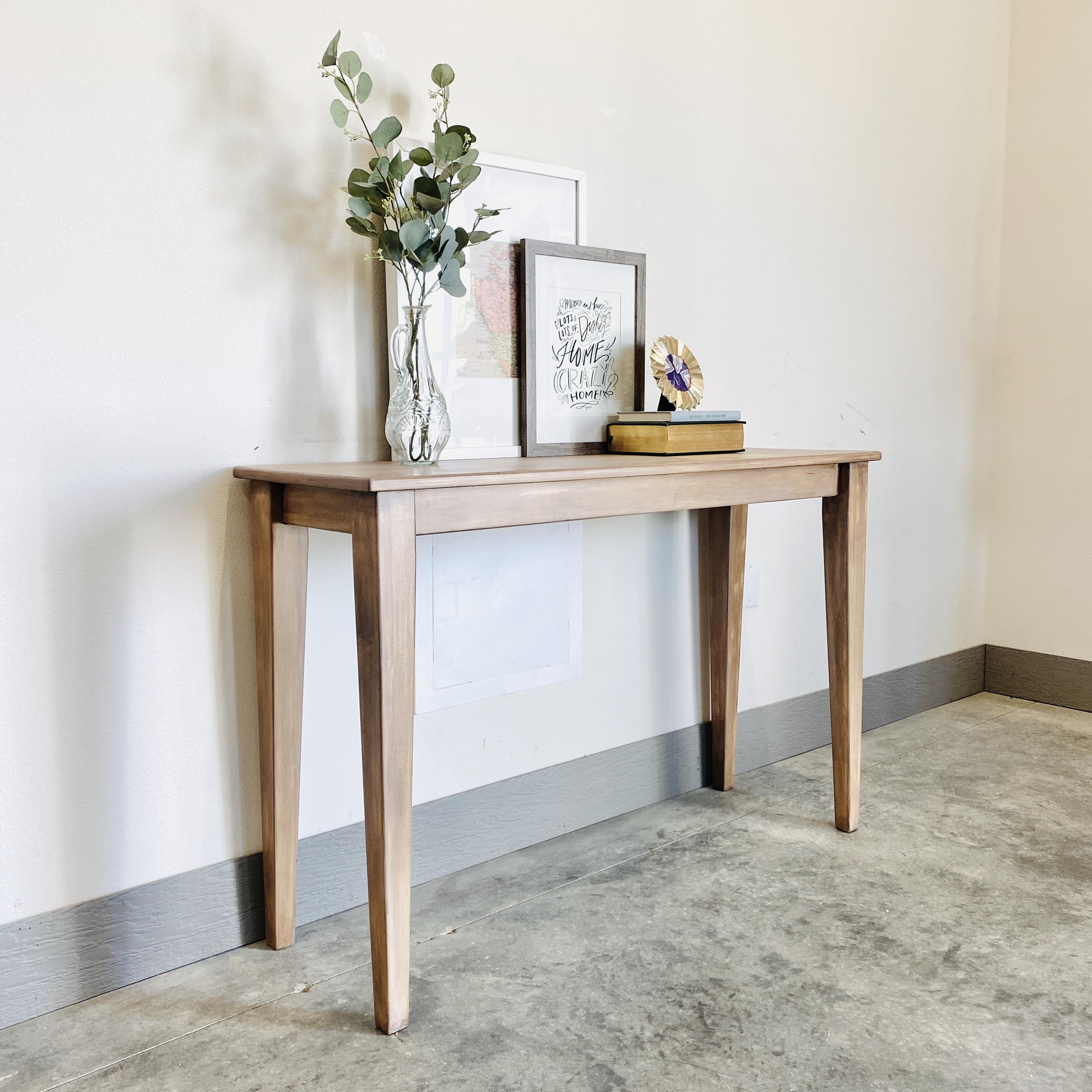 Raw Wash Sofa Table