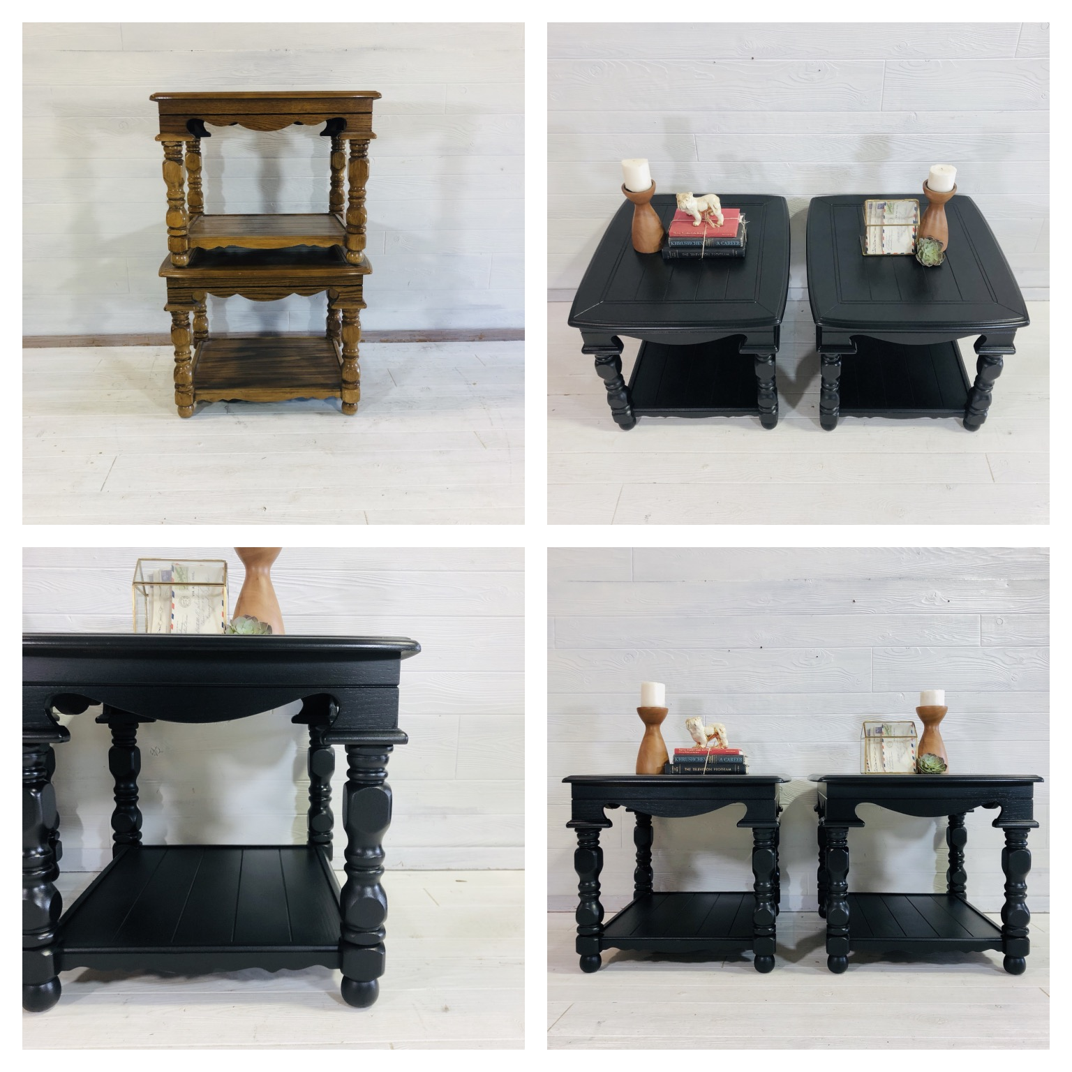 Lamp Black End Tables