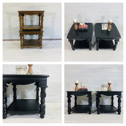 Lamp Black End Tables