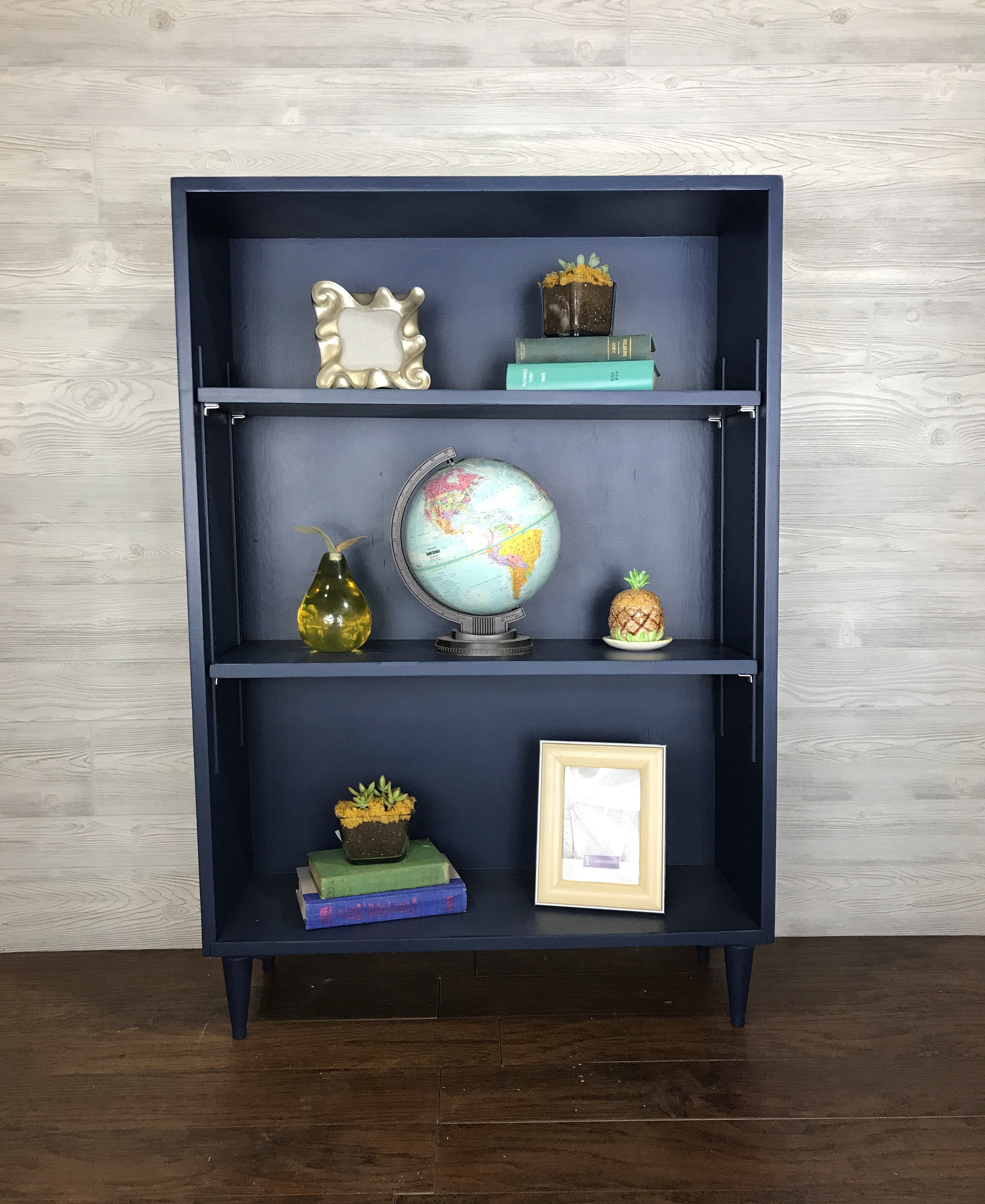 Navy Book Case