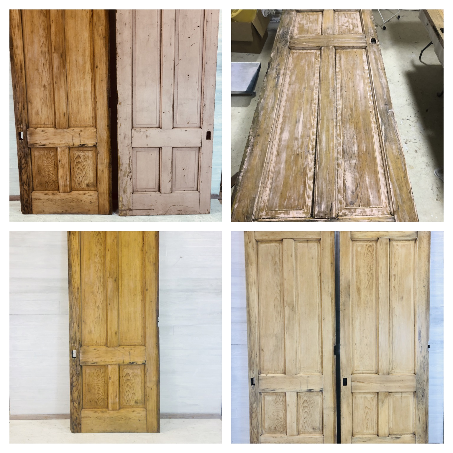 White Washed Doors