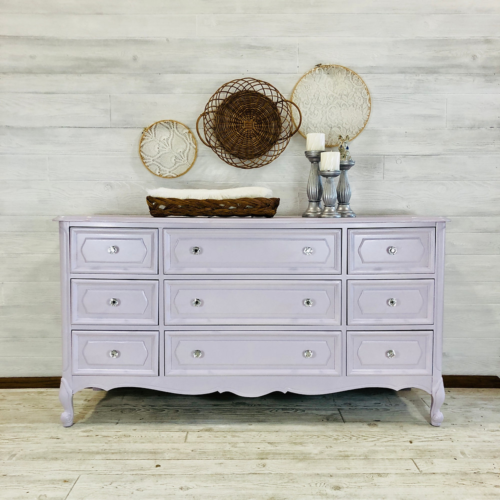 Light Lavender Dresser