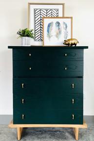 Dark Emerald Green Dresser