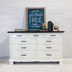 Alabaster and Java Dresser