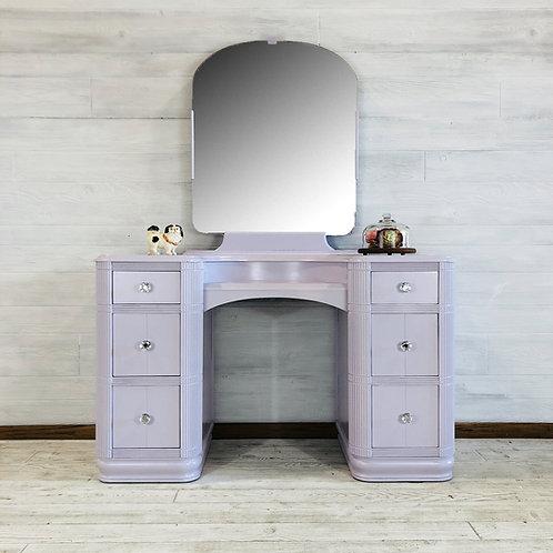 Lavender Vanity with Stool
