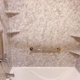 Acrylic Shower and Tub