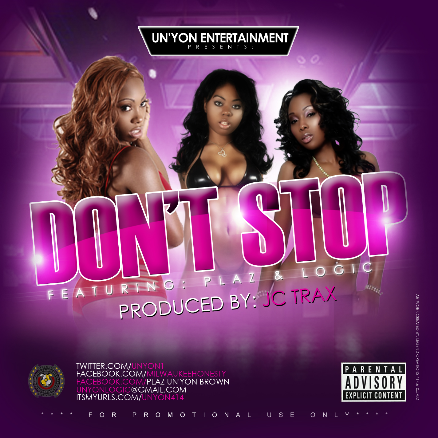 dont stop cd cover