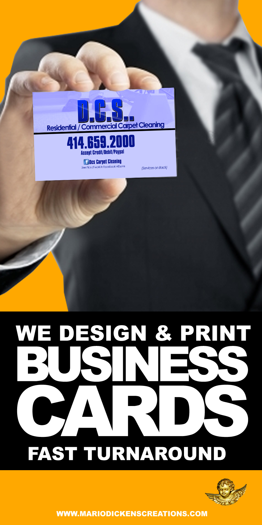 Mario Business Card Banner