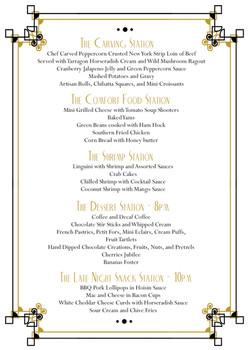 amy menu