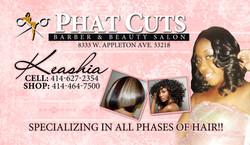 Keashia Business Cards