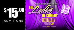 Ladies of comedy  tICKET