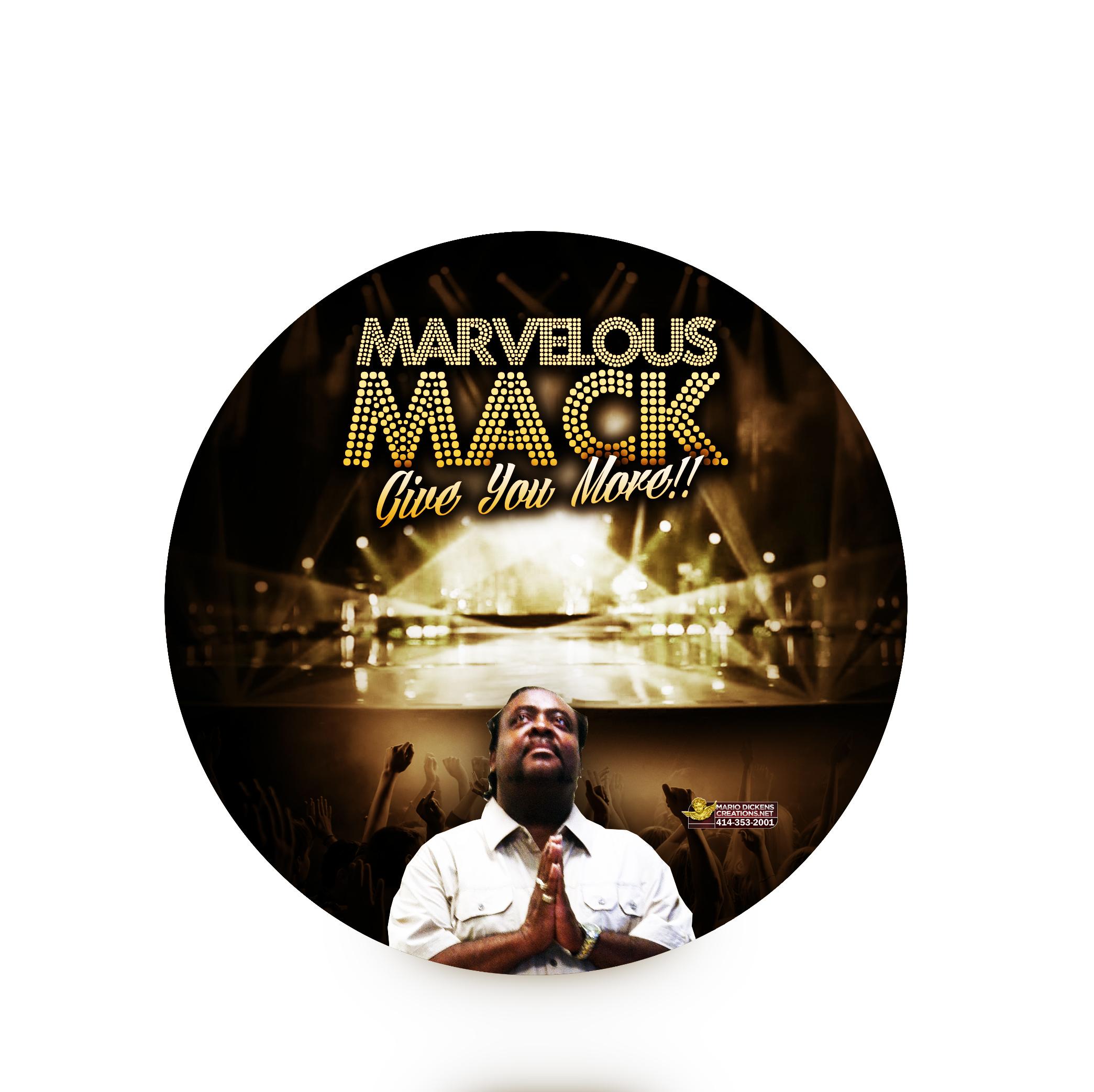 Marvelous Mack CD Label