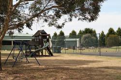 Tennis Courts and Playground