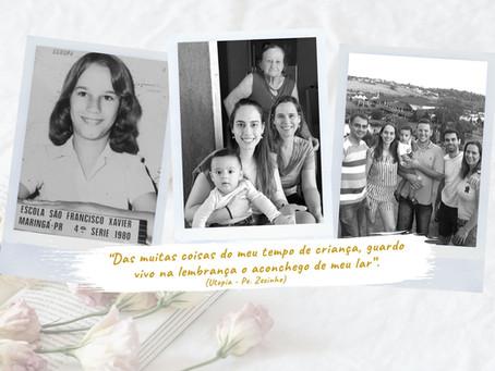 Memórias e experiências de Rosangela Miles...