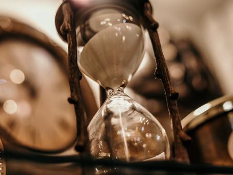 O tempo não espera ninguém