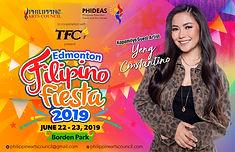 Edmonton Filipino Fiesta 2019 - Poster(4