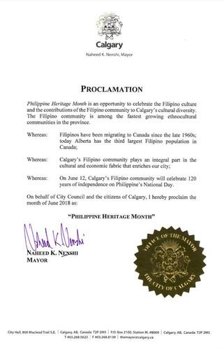 Calgary Phil Heritage Month