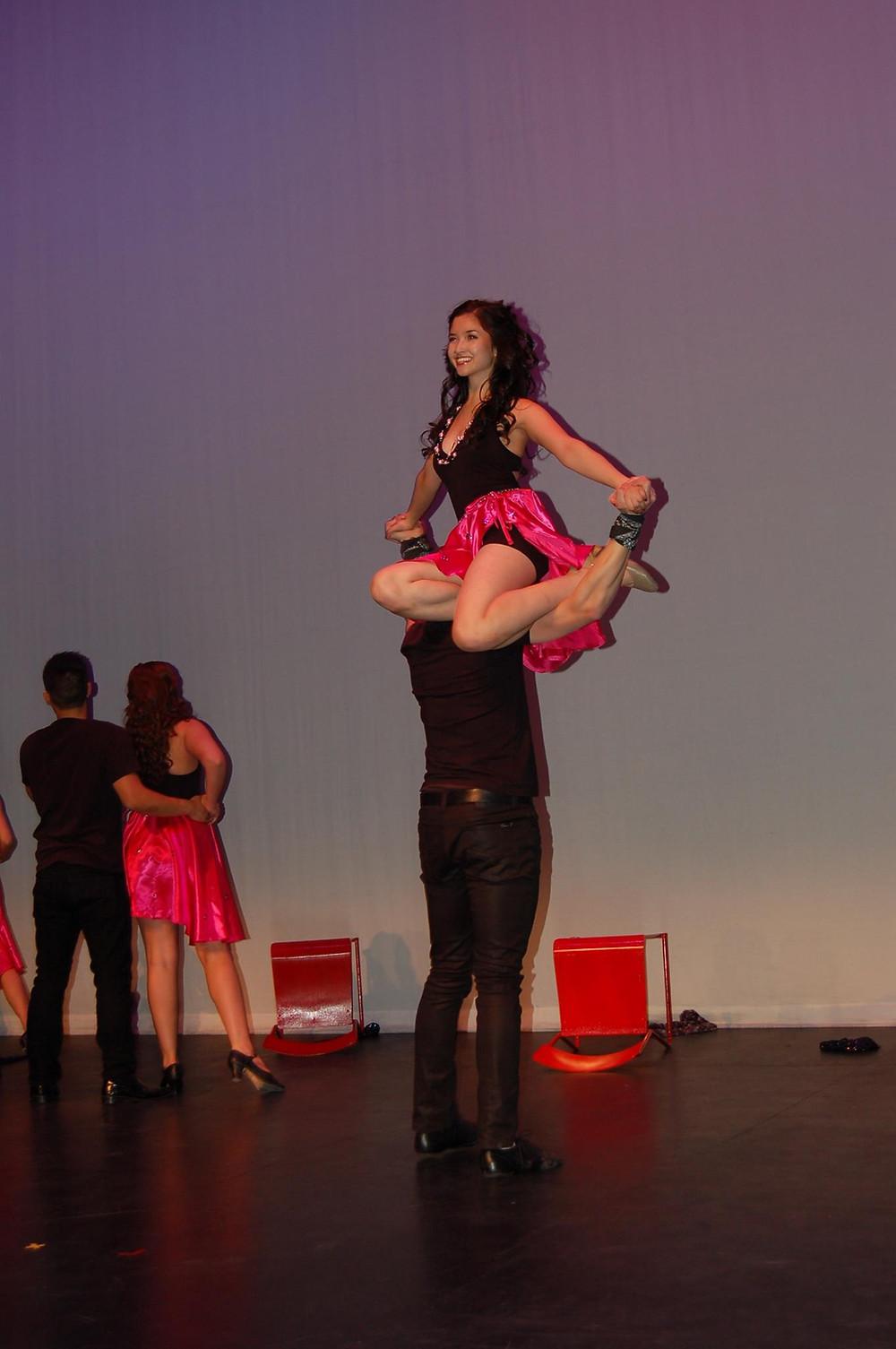 Cynthia as dancer
