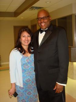 with MLA Blackett