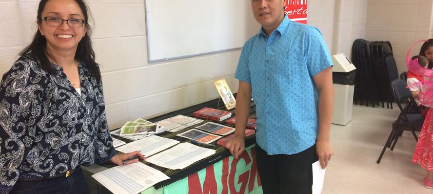 Migrante Alberta at the CPH