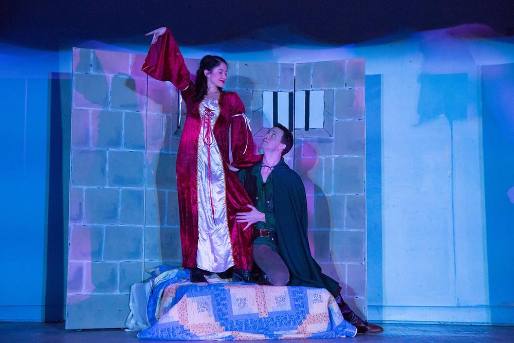 as Maid Marian in Robin Hood