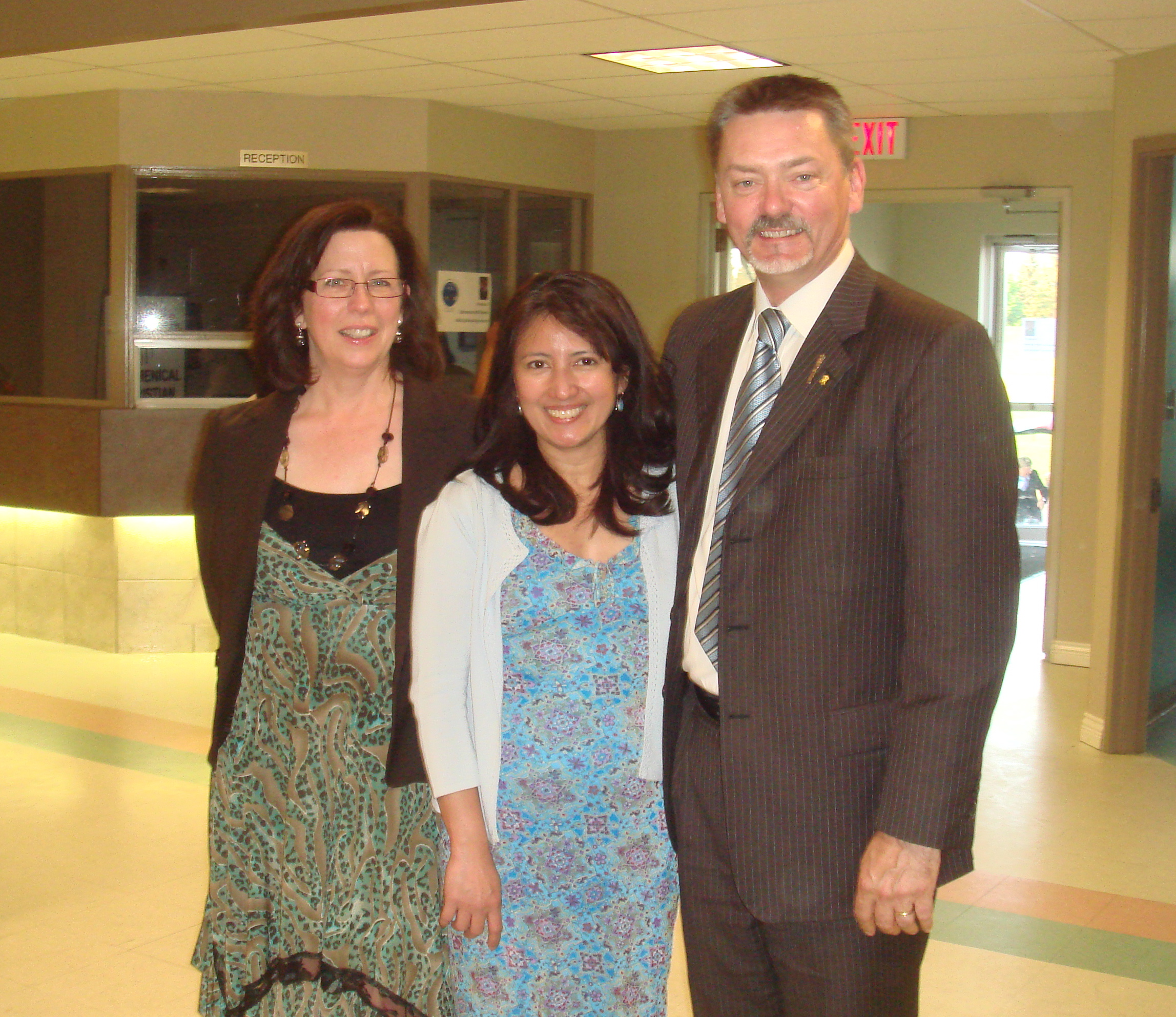 with MLA Doug Horner & wife Rose