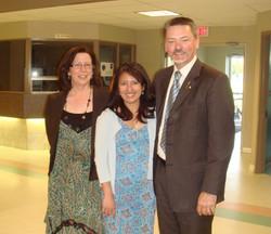 with MLA Doug Horner & wife Rose