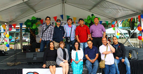 Behind   thethe    Scenes at the Edmonton Filipino Fiesta