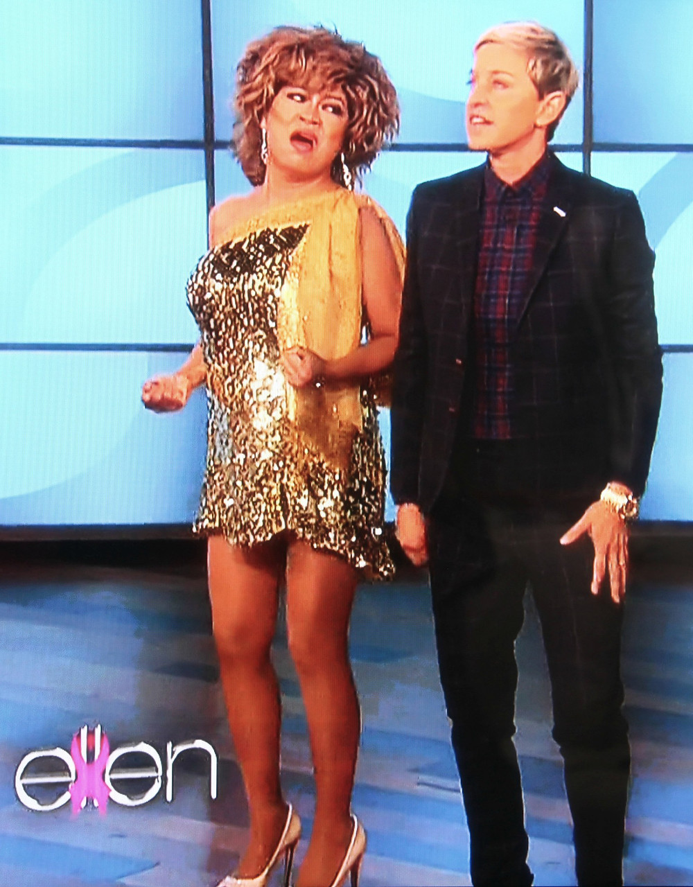 Guesting at the Ellen Show