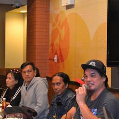 The Learning Table with Tunog Kalye Artists