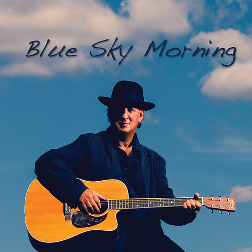 Blue Sky Morning CD with Lyrics Booklet