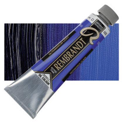 Rembrandt 40ml Ultramarine Light