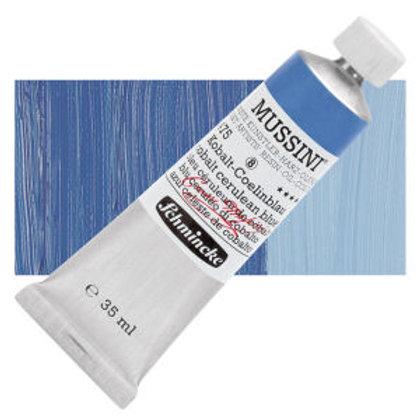 Schmincke Mussini 516 Cobalt Cerulean Blue