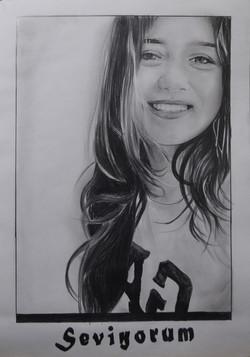 sevgi portre