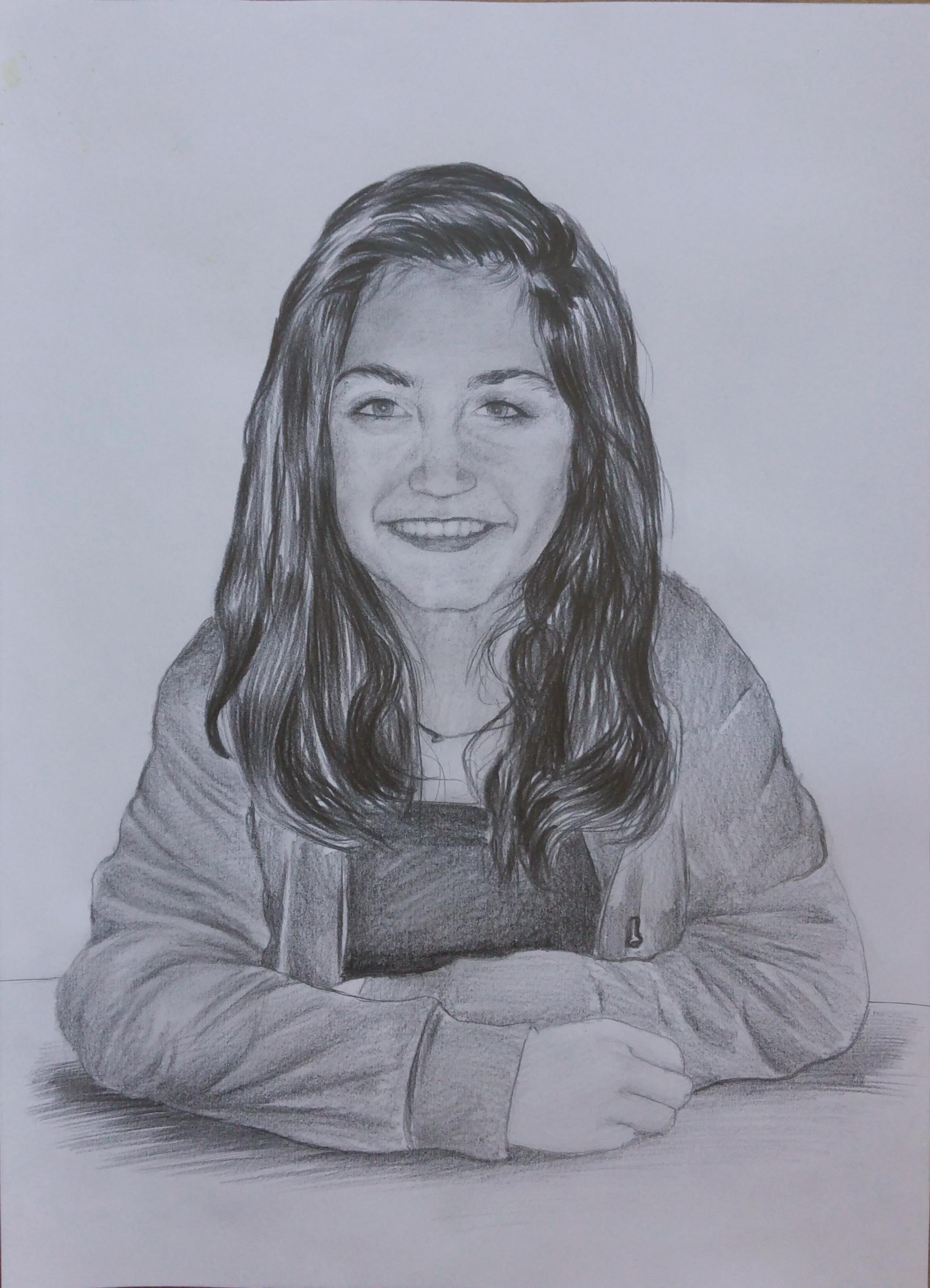 karakalem portre çizim