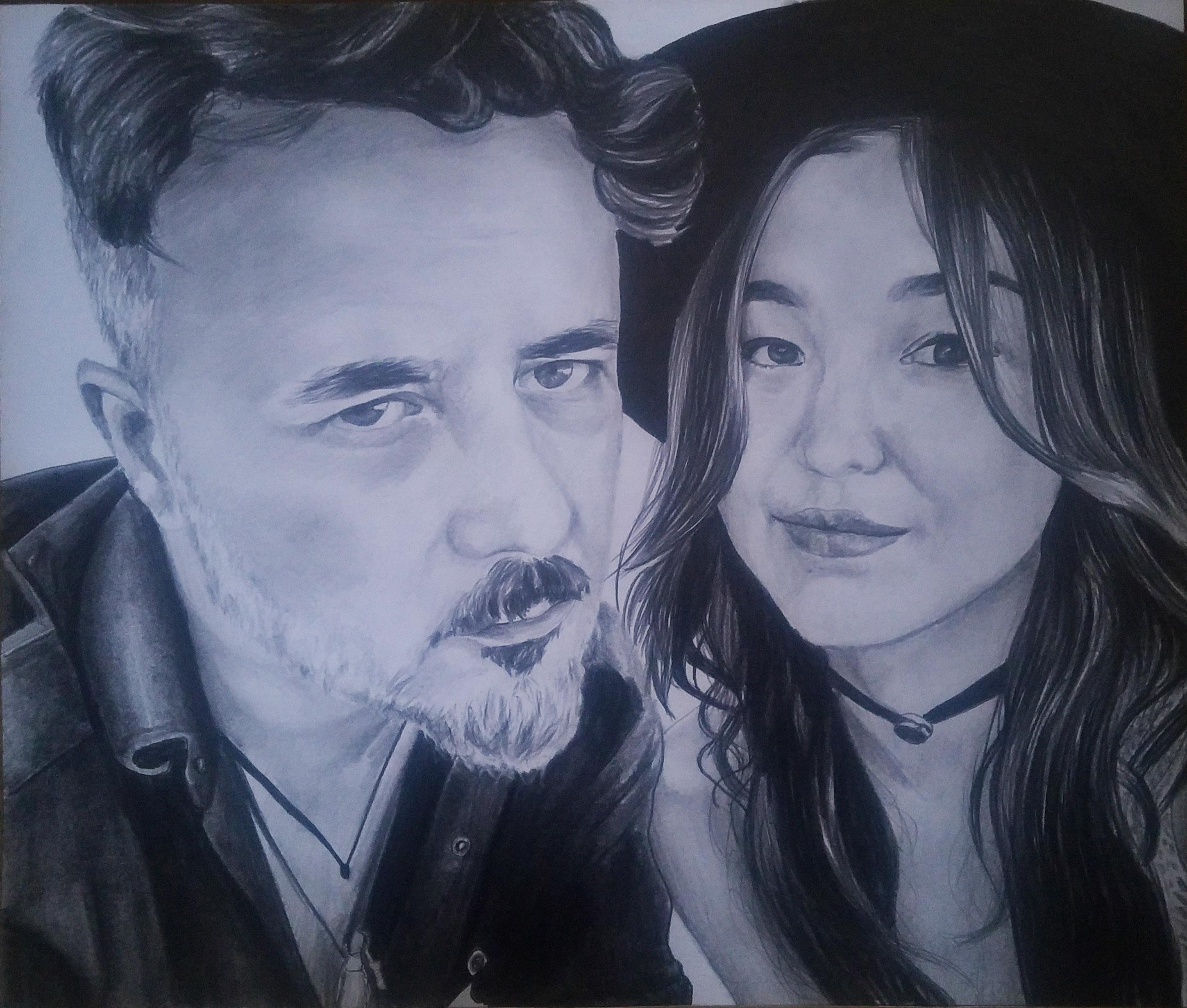 portre çizimi,