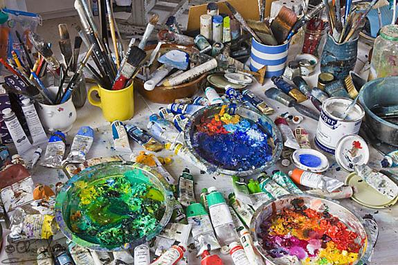 atölye yağlı boya tüpleri