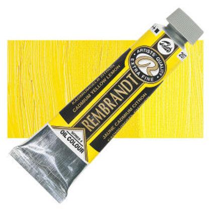 Rembrandt 40ml Cadmium Yellow Lemon