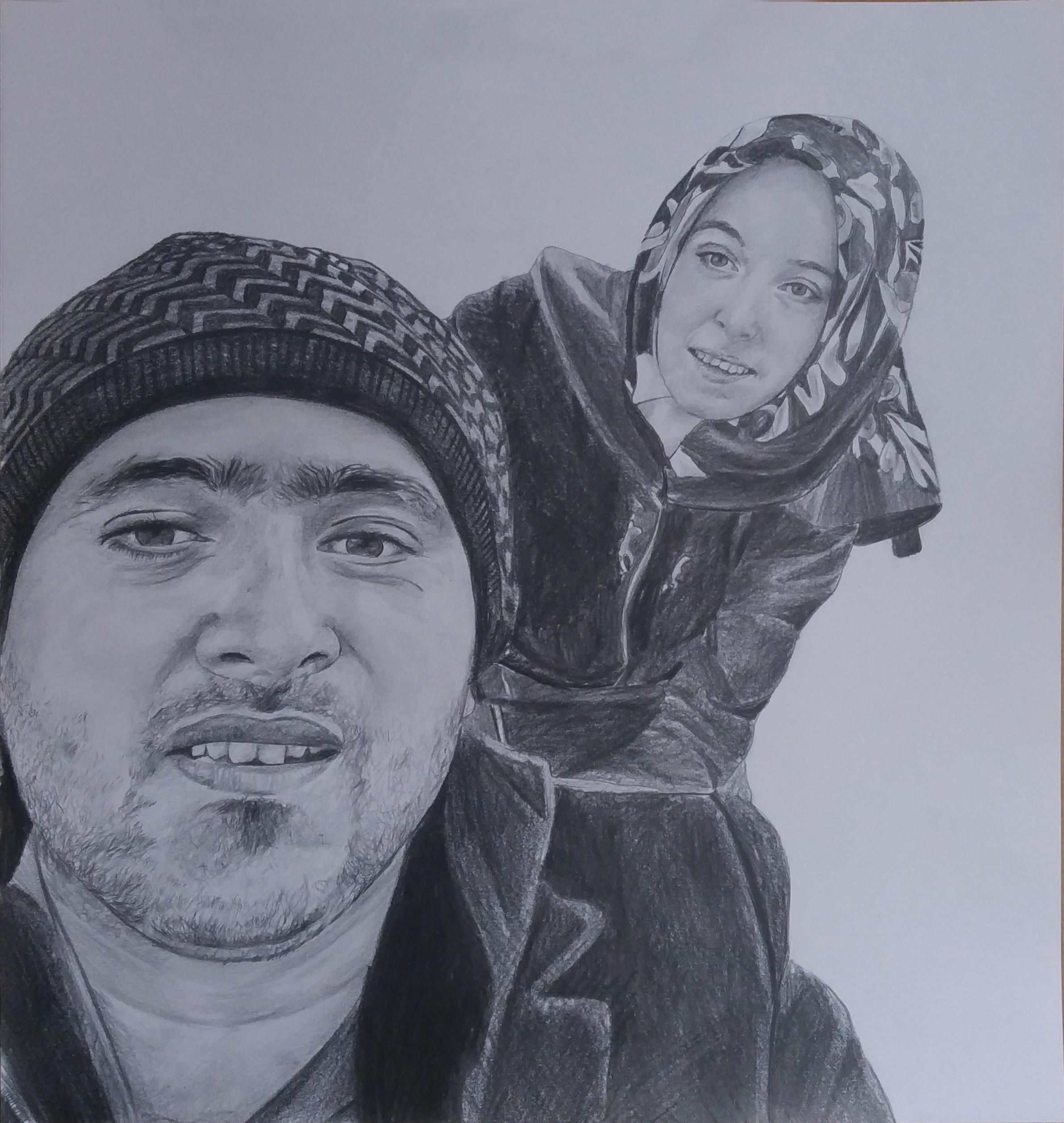 manisa karakalem portre