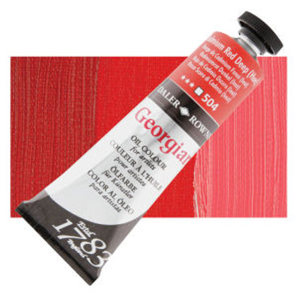 504 Cadmium Red Deep Hue