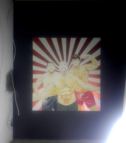 duvar resmi yapım aşaması