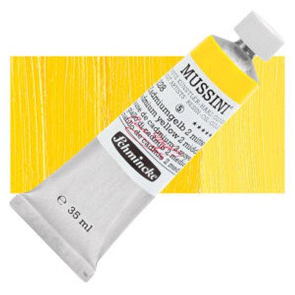 Schmincke Mussini 409 Cadmium Yellow Middle