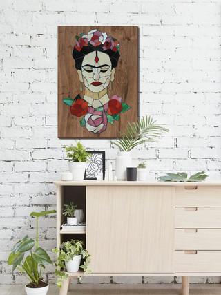 Frida Kahlo Portresi-225 TL