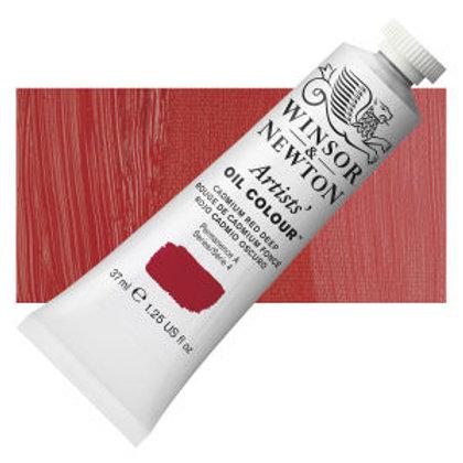 Winsor Newton Artist 37ml Cadmium Red Deep