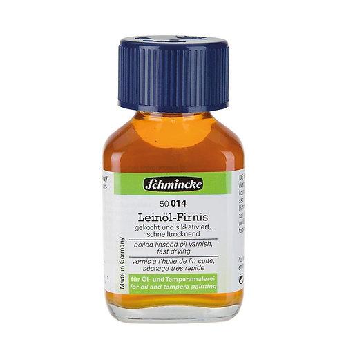 Schmincke 025 Linseed Oil (Kaynatılmış Keten Yağı)